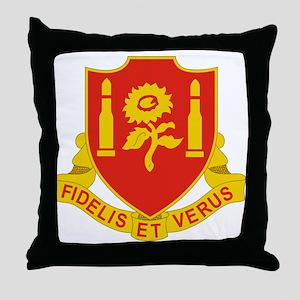 29 Field Artillery Regiment Throw Pillow