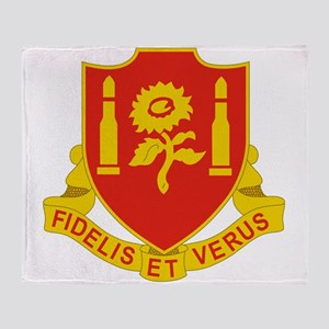 29 Field Artillery Regiment Throw Blanket