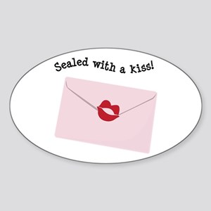 Sealed With A Kiss! Sticker
