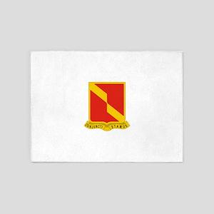 27 Field Artillery Regiment 5'x7'Area Rug