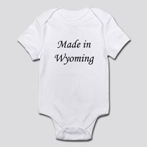 Wyoming Infant Bodysuit