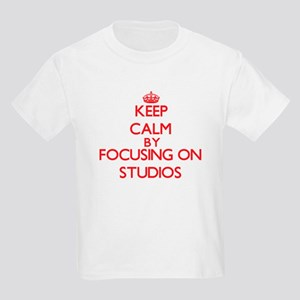 Keep Calm by focusing on Studios T-Shirt