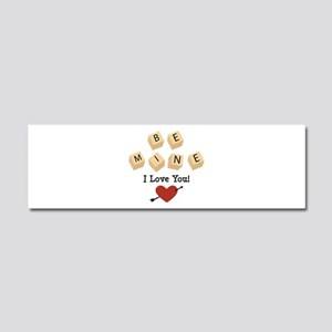 I Love You Car Magnet 10 x 3