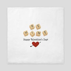 Be Mine Valentine Queen Duvet