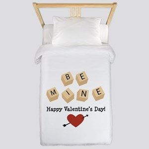 Be Mine Valentine Twin Duvet