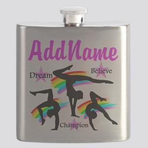 GYMNAST QUEEN Flask
