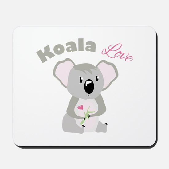 Koala Love Mousepad