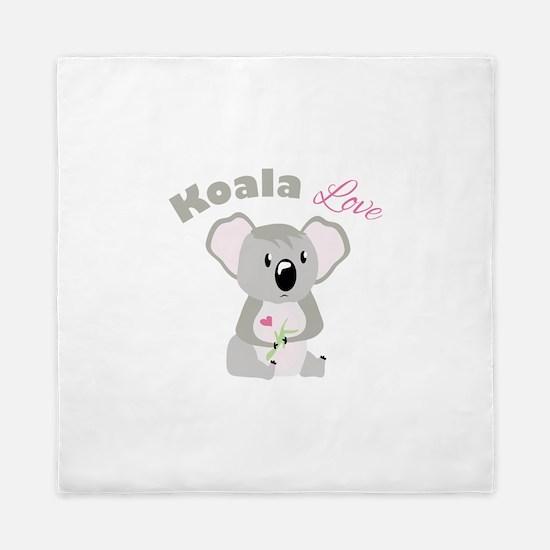 Koala Love Queen Duvet