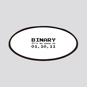 Binary It's As Easy As 01,10,11 Patches