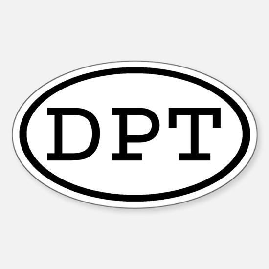 DPT Oval Oval Decal