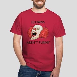 Clowns Aren't Funny Dark T-Shirt