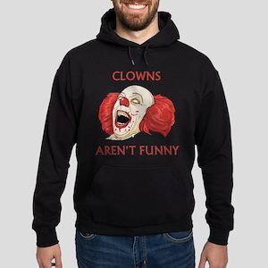 Clowns Aren't Funny Hoodie (dark)