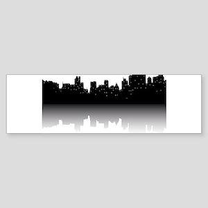 NYC Skyline Bumper Sticker