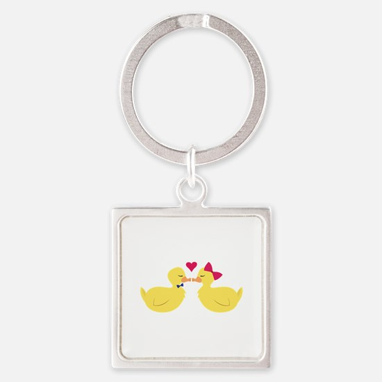 Kiss Ducks Keychains