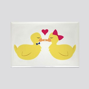Kiss Ducks Magnets