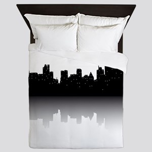 NYC Skyline Queen Duvet