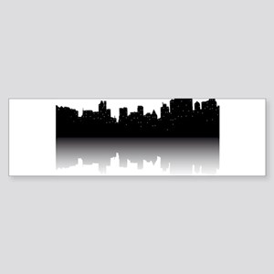 NYC Skyline Bumper Sticker