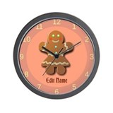 Gingerbread Wall Clocks