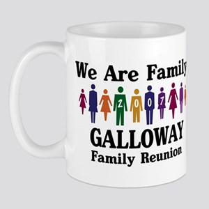 GALLOWAY reunion (we are fami Mug