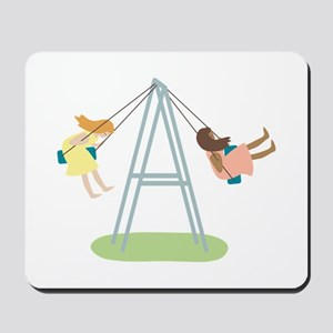 Kids Playground Swing Set Mousepad