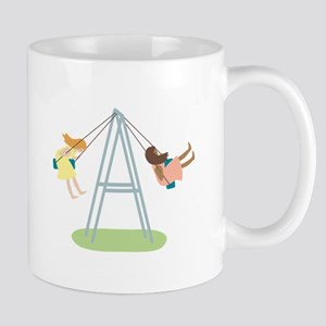 Kids Playground Swing Set Mugs