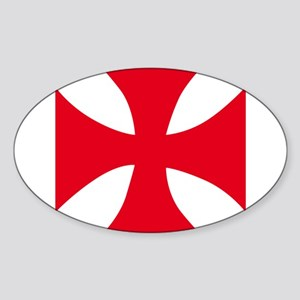 Templar Cross Sticker
