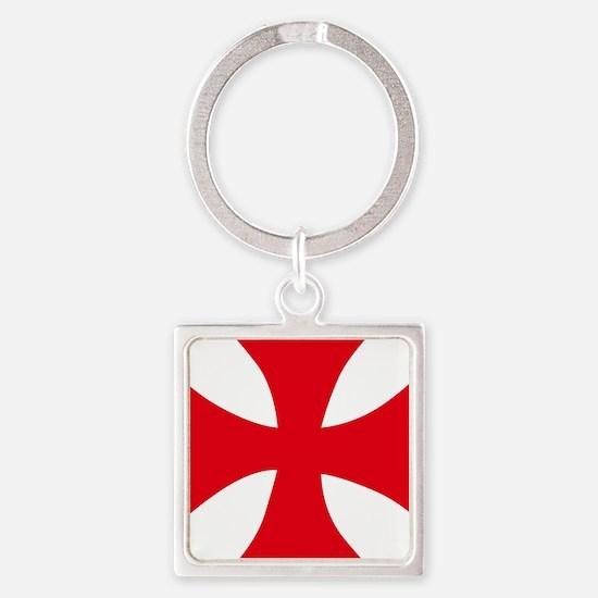 Templar Cross Keychains