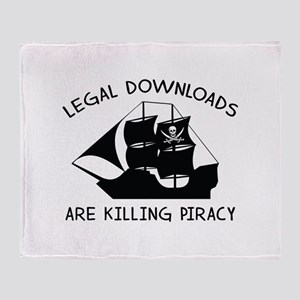 Legal Downloads Are Killing Piracy Stadium Blanket