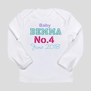 Baby No. 4 June 2018 Long Sleeve T-Shirt