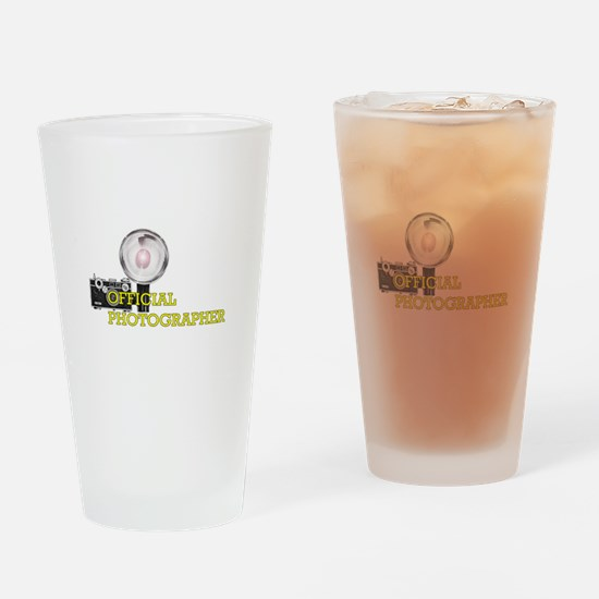 Official Photographer-2.png Drinking Glass
