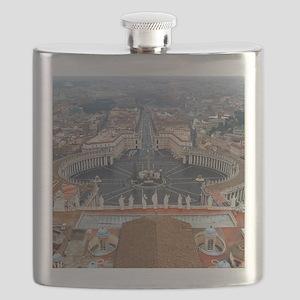 St. Peter's Basilica Flask