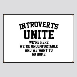Introverts Unite Banner