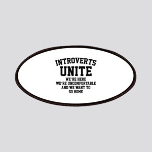 Introverts Unite Patches