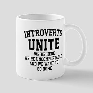 Introverts Unite Mug