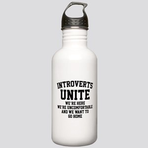 Introverts Unite Stainless Water Bottle 1.0L