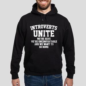 Introverts Unite Hoodie (dark)