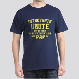Introverts Unite Dark T-Shirt