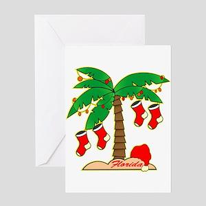 Florida christmas gifts cafepress florida christmas tree greeting cards m4hsunfo