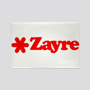 Zayre Star Rectangle Magnet