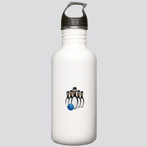 Penguin Bowling Pins Stainless Water Bottle 1.0L
