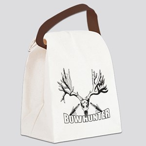 Bowhunter buck 14 Canvas Lunch Bag
