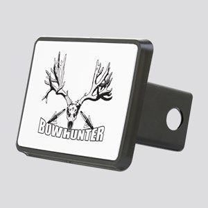 Bowhunter buck 14 Rectangular Hitch Cover