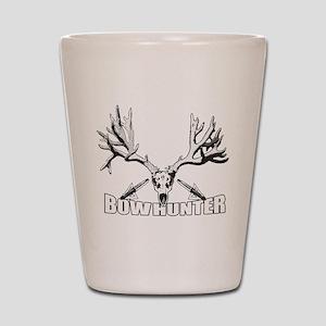 Bowhunter buck 14 Shot Glass