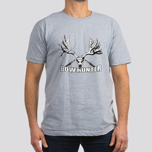 Bowhunter buck 14 Men's Fitted T-Shirt (dark)