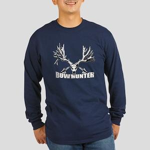 Bowhunter buck 14 Long Sleeve Dark T-Shirt