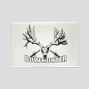 Bowhunter buck 14 Rectangle Magnet
