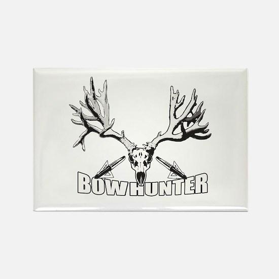 Bowhunter buck 14 Rectangle Magnet