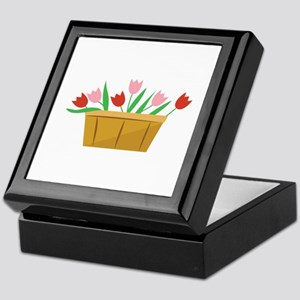 Tulips Keepsake Box