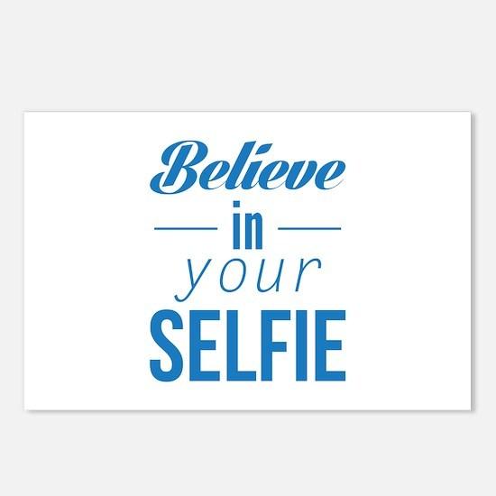 Believe In Your Selfie Postcards (Package of 8)