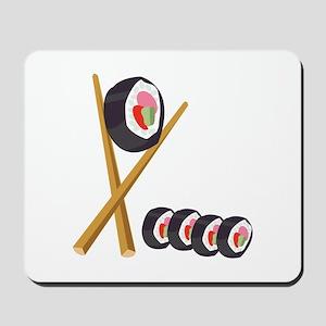Sushi Rolls Mousepad